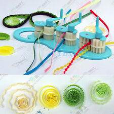 Plastics Paper Quilling Crimper Machine Crimping Paper-Craft Quilled Tool DIY