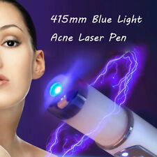 Blue Light LED Photon Therapy Acne Laser Pen Face Skin Care Beauty Device NEW