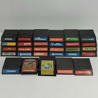 Untested Mattel Intellivision Video Games | Cartridges Only