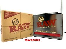 Raw Natural Unrefined Rolling Papers Automatic Rolling Box 110mm King Size