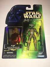 Star Wars Power of the Force 4-LOM green card with hologram Kenner 1997 POTF2