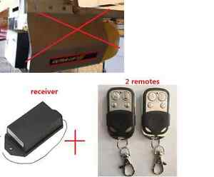 Garage Door remote Upgrade receiver Remote for ULTRA-LIFT with 2 remotes