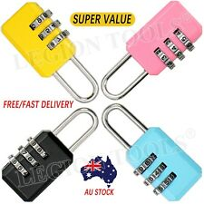 Metal Resettable 3 Digit Combination Travel Luggage Suitcase Code Lock Padlock