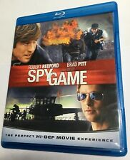 Spy Game (Blu-ray movie) multi region, robert redford