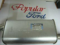 New Genuine Ford Focus Middle Exhaust Assembly 1.6L - 1067311