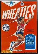 Refrigerator Magnet- 2 1/2 X 3 1/2  inches- Bruce Jenner - Wheaties - Cereal Box