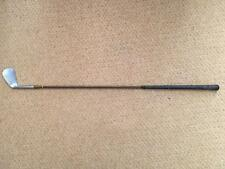 Vintage Chris Grabham Llandrindod Welsh Cleek Spade Mashie club de golf main forgé