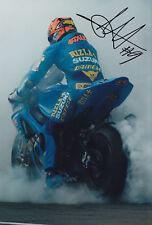 British Superbike Chris Walker Signed Photo 12x8.