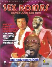 SEX BOMBS On The Loose (Tom JONES Isaac HAYES Al GREEN) LIVE MUSIC DVD NEW SEALD