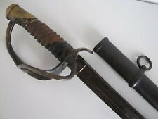 US Civil War C. Roby Model 1860 Cavalry Sword Saber w/Scabbard-Dated 1864