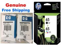 Genuine HP 65 Ink Cartridge Combo Pack for HP 3722 HP 3752 3755 printers-NEW
