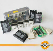 ACT Motor Nema 17 4axis 17HS5604 motor,0.4N.m 0.4A,driver,power supply,board