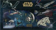 Star Wars - Veicoli Spaziali - in MINI FOLDER Gran Bretagna 2015 England GB