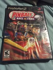 PINBALL HALL OF FAME THE WILLIAMS COLLECTION PS2 COMPLETE 2008