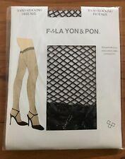 Thigh High Stockings Fishnet Pattern | Made in Korea