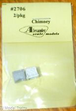 Alexander Scale Models #2706 Stone Chimney (Light Cast Metal) HO Scale