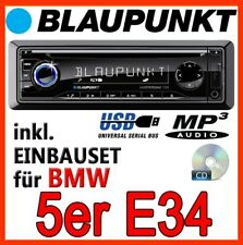 BLAUPUNKT - BMW 5er E34 - Amsterdam 130 RADIO CD MP3 USB AUTORADIO - EINBAUSET