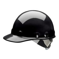 Fibre-Metal Cap Style Hard Hat with SwingStrap Ratchet Suspension, Black