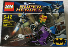 Lego ® DC Super Heroes 6858 Catwoman catcycle Chase Batman ™ nuevo con embalaje original New Sealed