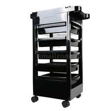 Beauty Salon Trolley Mobile Equipment Cart with Drawers Hairdressing Storage