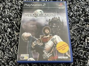 SHADOW HEARTS WITH MINI STRATEGY GUIDE - SONY PS2 GAME - POSTED WITH TRACKING