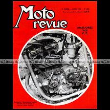 MOTO REVUE N°1692 NOUGIER NORTON MANXMAN CHARLES COUTARD PALOMA JAWA-CZ 125 1964