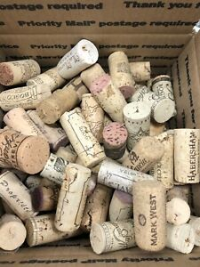 Used Wine Corks Crafts - 2lb of Cork  No Plastic Free Shipping