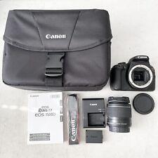 *Mint* Canon EOS Rebel T7 24.1MP Digital Camera - Black w/ Canon 18-55mm Lens
