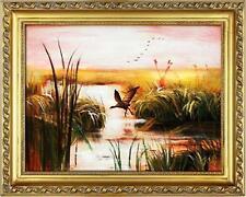 Künstlerische Malereien mit Vögeln Tier-Motiv