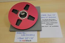 Halbzoll Leerspule , 30 cm, f. Mehrspurmaschinen, Ampex, Sony -NEU- Nr.LX2-1/2-3
