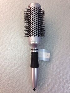 Cricket Ionic Silver Round Hair Brush 44 mm 1 3/4 Inch Professional