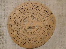 Disco di cartone per Organetto a Manovella n. 1355 Toni Polka Carl Faust