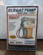1/24 Scale Resin Old Gas Pump AK DZ003 Single Hose