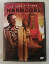 DVD HARDCORE - George C. SCOTT - Paul SCHRADER - RARE