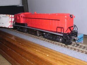 STEWART #4180  M.K.T. Baldwin AS-16 Diesel Loco w/Kadees  Built-up  1/87