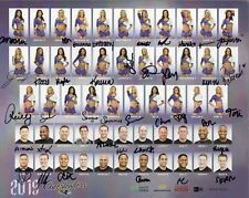 New listing BALTIMORE RAVENS 2019 CHEERLEADERS SIGNED PHOTO 39 SIGNATURES
