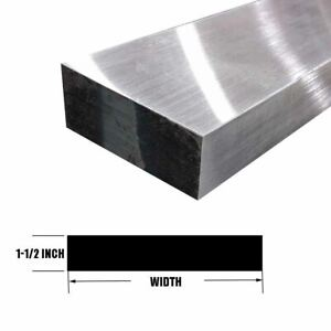 "7075 Aluminum Rectangle Bar, 1.5"" x 2.5"" x 12"""