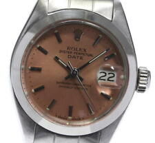 ROLEX Oyster Perpetual Date 6917 cal.2030 Pink Dial Automatic Ladies_597073