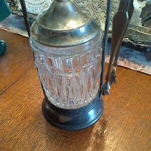 Antique Victorian Silver Plated Quadruple Hard White Metal Pickle Castor SALE