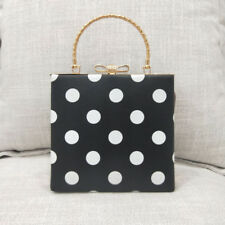 Fashion Dot Easy Matching Hand Bags - Black (EFG071402)