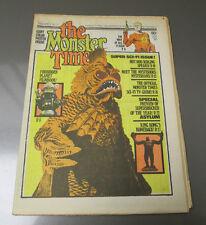 1972 Monster Times v.1 #17 Vg+ With Robot/Girl Poster Forbidden Planet King Kong
