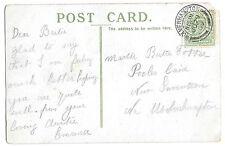 Potter, Pooles Lane, Snetterton Genealogy Postcard Kings College Cambridge 1909