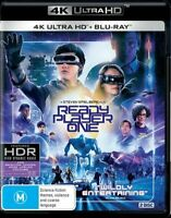 Ready Player One : NEW 4K Ultra HD Blu-Ray