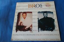 """BROS """" CHANGING FACES """" LP 1991 SONY MUSIC NUOVO"""