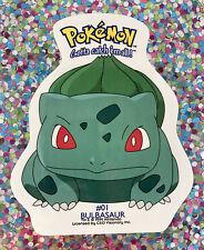 ⭐️ Pokemon 1999 Bulbasaur Sticker 🎏