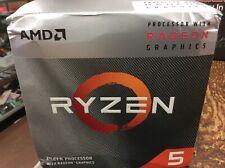 AMD Ryzen 5 3400G 3.7GHz 4 Core Wraith Spire Cooler Processor