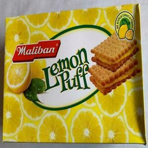Maliban Lemon Puff Biscuits 400g Pack 100% With Real Lemon Creambest quality