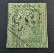 nystamps British India Stamp # 5 Used $38