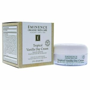 Eminence Tropical Vanilla Day Cream SPF 32 2 oz / 60 ml New in Box