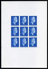 1981c Harrison Ink Trial and Sample PROOF on Phosphor Coated Paper - RARE!